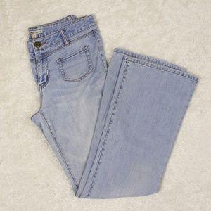 CAbi 223 Malibu Light Wash Flare Jeans